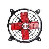 10 Zoll / 12 Zoll / 16 Zoll / 24 Zoll Runden Metall Leistungsstarker Abluftventilator Dunstabzugshaube Badezimmer Lüftungsventilator (größe : 12 inch)