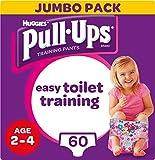 Huggies Pull Ups Töpfchentrainingshose, für Mädchen, 2-4 Jahre, 60 Stück, 712 g