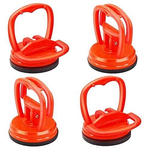 Preisvergleich Produktbild Yaheetech 4X Mini Saugheber Satz Glassauger Saugnapfhalter ø 57 mm