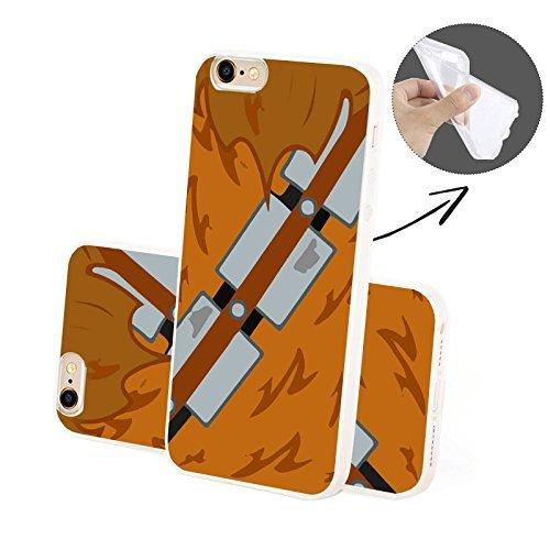 FINOO Handyhuelle Trasparente Silicone Motivo 4 - Baby Unicorno SILICONE, iPhone 5/5S Backa SILICONE