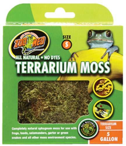 Zoo Med Terrarium Moss Small 1.3 Litres