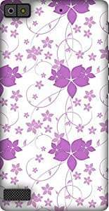 The Racoon Grip printed designer hard back mobile phone case cover for Blackberry Z3. (flower pow)