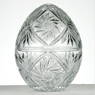 victoria Kristall Egg-Pack 24% geschliffenes Bleikristall 100% Handgefertigt Crystal Cut Punch