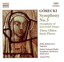 Sinfonia N.3 Op.36, 3 Pezzi In Stil