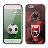Urcover Coque iPhone 6 / 6s Championnats du Monde de Football 18 Housse arrière, Smartphone Protection Jersey Soccer [Équipe L'Albanie] TPU Flexible, Bumper Anti-Chocs...