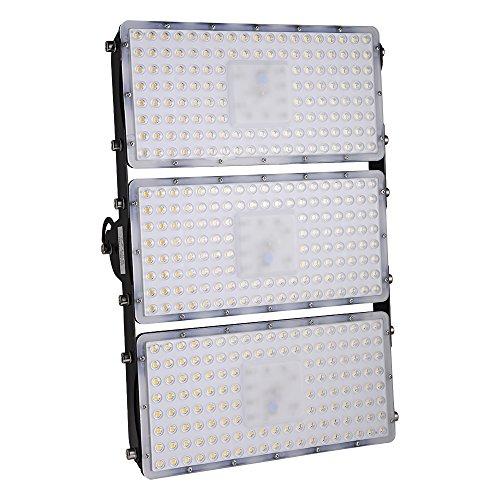 [Led Flutlicht Strahler Außenleuchte] Viugreum Super Hell 300W LED Fluter Floodlight Licht Scheinwerfer Außenstrahler Wandstrahler IP65 Wasserdicht SMD2835, 30000LM, Warmweiß