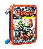 Marvel Avengers 61224 Astuccio, 3 Scomparti, Poliestere, Multicolore, Iron Man Hulk Thor Captain America