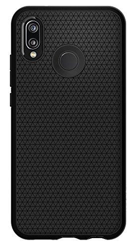 Spigen Liquid Air Funda con Flexibilidad Duradera y Diseñado para el Agarre Fácil para Huawei P20 Lite (2018) - Negro