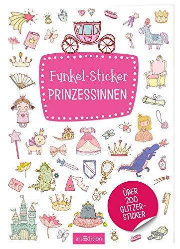 Funkel-Sticker Prinzessinnen