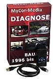 MyCor-Media Diagnose USB OBD Scanner 1.4 PASoft für BMW E46 E39 E38 E83 E53 E85 + Software