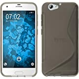 Coque en Silicone pour HTC One A9s - S-Style gris - Cover PhoneNatic Cubierta Case