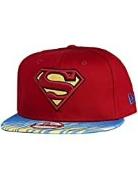 New Era x DC Comics - Casquette Snapback Homme Superman 9Fifty Animal Fade - Red / Blue / Yellow