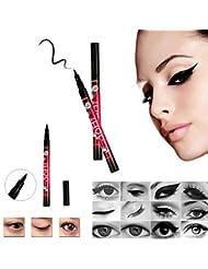 Lalang Black Eyeliner Waterproof Liquid Make Up Beauty Comestics Eye Liner Pen (1#)