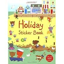 Holiday Sticker Book (Usborne Sticker Books) by Fiona Watt (2009-02-27)