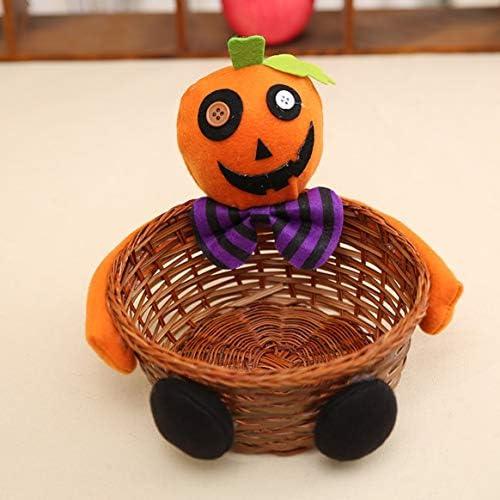 Delicacydex Nouveau Utile Décorations d'halloween Bar À La Main Durable Bambou en Rotin Knited Candy Cookie Panier Accueil Accessoires | Outlet Online