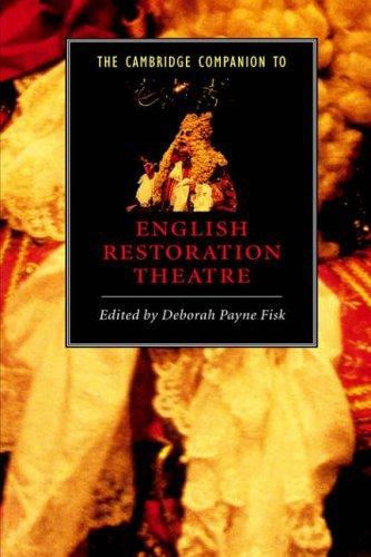 The Cambridge Companion to English Restoration Theatre (Cambridge Companions to Literature) (2000-05-11)