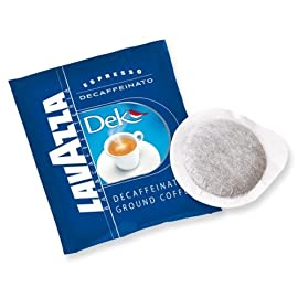 Lavazza Dek Decaffeinated ESE Esrpresso Pods 44mm (2 Packs of 18)