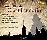 Fünf Fälle für Erast Fandorin (5 MP3-CDs mit 38 Stunden; Fandorin, Türkisches Gambit, Mord auf der Leviathan, Russisches Poker, Der Tote im Salonwagen) - Boris Akunin (Autor)