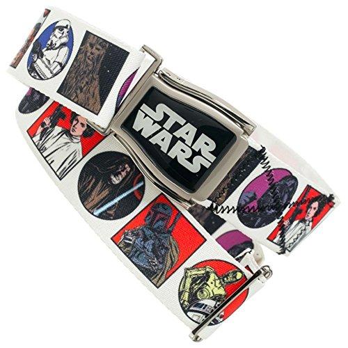 Tee Kostüm Boba - Star Wars Comic Panel Weiß Adjustable Crosscheck Flightbelt
