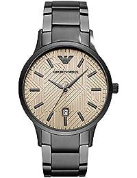 Emporio Armani Reloj Analogico para Hombre de Cuarzo con Correa en Acero Inoxidable AR11120