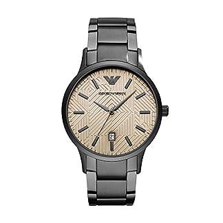 Emporio Armani para hombre vestido reloj