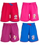 Ultrafit Junior Boys Pack of 4 Cotton Short- Red, Blue, Purple, Pink