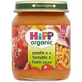 Hipp Pâtes Biologiques Dans Une Sauce Tomate Et Jambon 6 + Mois 125G - Lot De 2