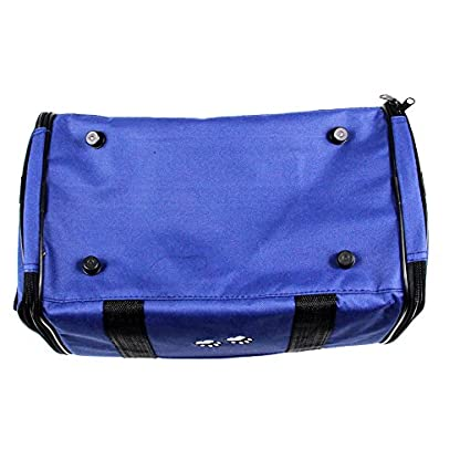 Nestling® Blue Oxford Cloth Pet Carrier Bag Dog Cat Bag Foldable Pet Travel Carrier Ideal for Puppy, Cat, Rabbit and… 5