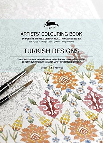 Pepin Turkish Designs Carta di Tipo Libro, 25 X 34.5 cm