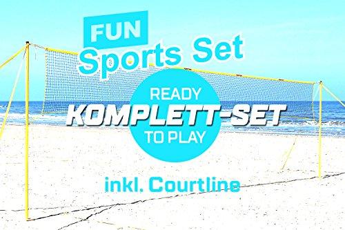 Preisvergleich Produktbild Funtec Fun Sports Set - Beachvolleyball- und Multisport-Set