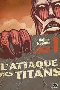 L'Attaque des Titans Édition Colossale Tomes 1 à 3