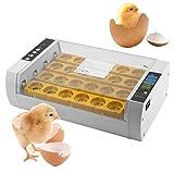 Poncherish 24 Temperatura apparecchiature portatili per incubazione di uova Incubatrice Automatica Uova Controllo Automatico