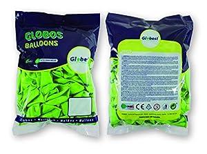 Globest- Globos de látex decoración, Color pistacho (Festival 50268)