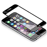 "iPhone 6s 6 Schutzfolie,Coolreall® Full Screen Curved Panzerglas für iPhone 6s 6 4,7"",[9H Härtegrad,3D-Touch kompatibel](Schwarz)"