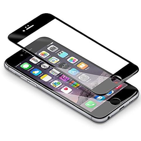 Verre Trempé iPhone 6 / 6s,Coolreall® 3D Integralé Film Protection écran en Verre Trempe pour iPhone 6 / 6s,0.33mm Ultra HD Film Protecteur Vitre,Dureté 9H,4.7