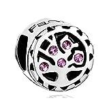 Uniqueen Fit Pandora Charms     cobre     cristal