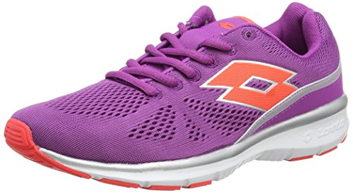Lotto Ariane Iv Amf W, Chaussures de course femme Violet - Violett (PURP IN/CORAL D)
