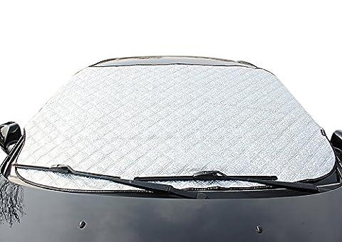 FREESOO Voiture Couverture de Pare-brise Pare Soleil neige Pare-brise Avant pour Voiture Anti UV Repliable
