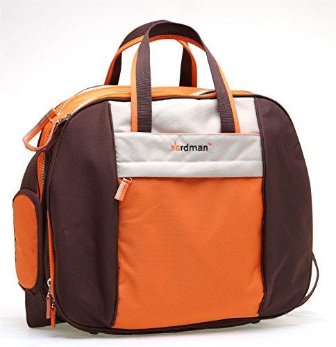 Babyhugs® über Nacht Krankenhaus Mutterschaft Baby Windel Windel Wickeltasche Weekend Bag–Orange Doppel-kinderwagen Abnehmbare