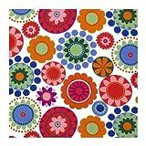 Ikea, tessuto decorativo al metro Frederika, multicolore, 1 x 1,5 m (lunghezza x larghezza), 100% cotone