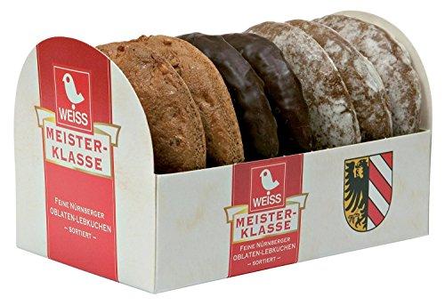 Weiss Oblaten-Lebkuchen 3-fach sortiert, 200 g