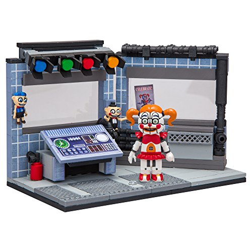 McFarlane Toys Five Nights At Freddy's Circus Control Construction Building Kit