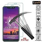 """ANEWSIR [2 Pièces] Motorola Moto One (P30 Play) Verre Trempé, Motorola One Film Protection en Verre trempé Protecteur 9H, Anti Rayures, Adsorption Automatique, sans Bulles, pour Motorola One (5.9"""")"""