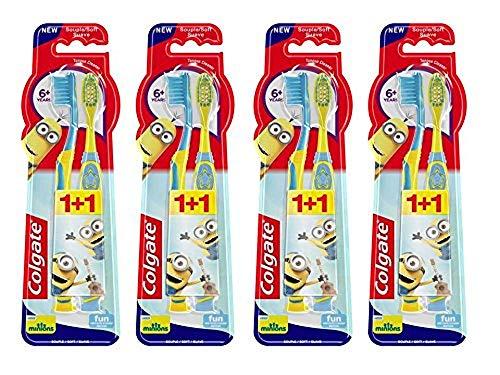 Colgate Oral Care Zahnbürste Kids Minions Duo 6+ Jahre 2Einheiten -