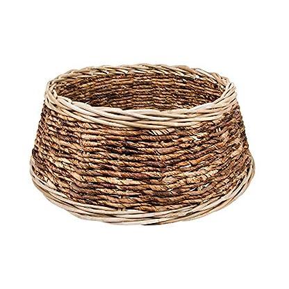 Zierkorb-Korb-fr-Weihnachtsbaumstnder-oder-Christbaumstnder-Schner-Tree-Basket-im-Shabby-ChicLandhaus-Stil