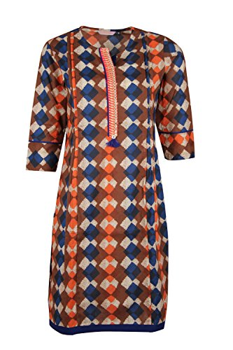Mothers Bay Women's Cotton Feeding Kurti, Red Color (XX-Large)