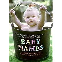 Baby Names (Collins Gem)