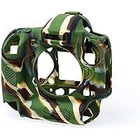 Proprio pelle EasyCover silicone per Nikon D4S Camouflage [JU0449C]