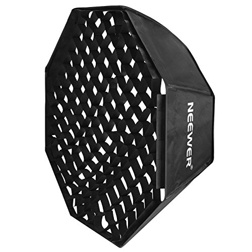 Neewer Portable Octagon Softbox with Grid Bowens Mount 80x80cm Beehive
