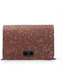 Fashion Women Sequins Shoulder Bag High Quality Feminine Leather Envelope Bag